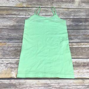 🎉SALE!!! Long layering tank - mint green